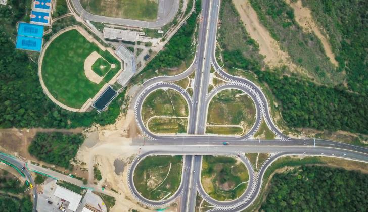 Anillo vial que conecta la Circunvalar de la Prosperidad o Segunda Circunvalar con la Vía al Mar.