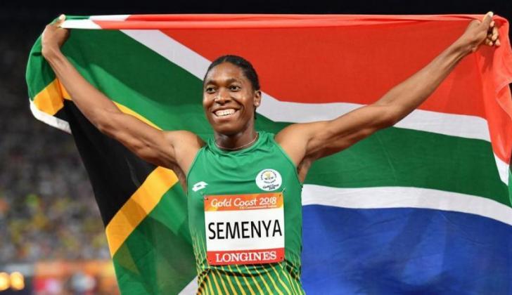 La atleta sudafricana Caster Semenya.