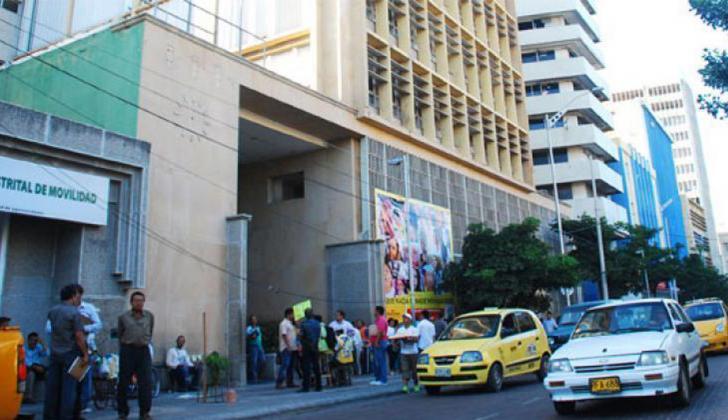 La irregularidad fue denunciada por funcionarios de la Alcaldía de Barranquilla.