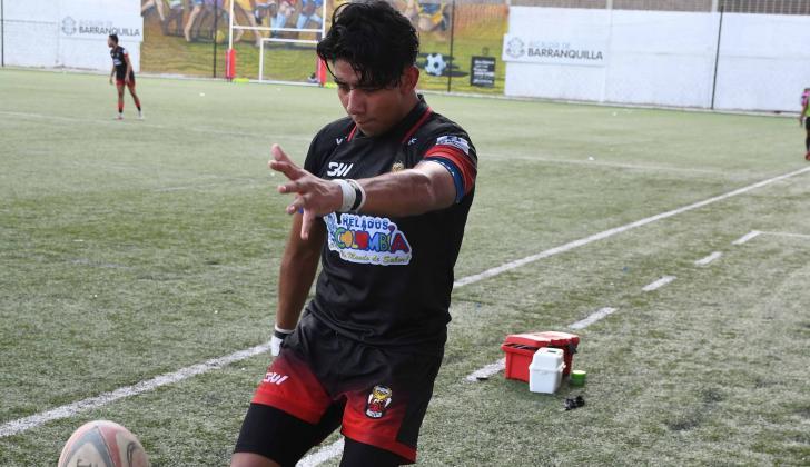 Elí Rogelio Hernández López juega para los Vikingos, en el Moderno.
