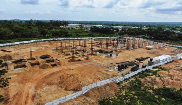 Construcción de la nueva sede de Uniatlántico en Sabanalarga.