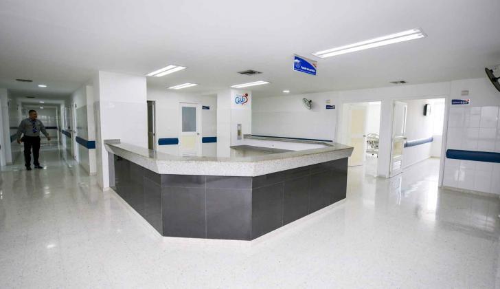 Imagen de las instalaciones del Hospital Universitario Cari.