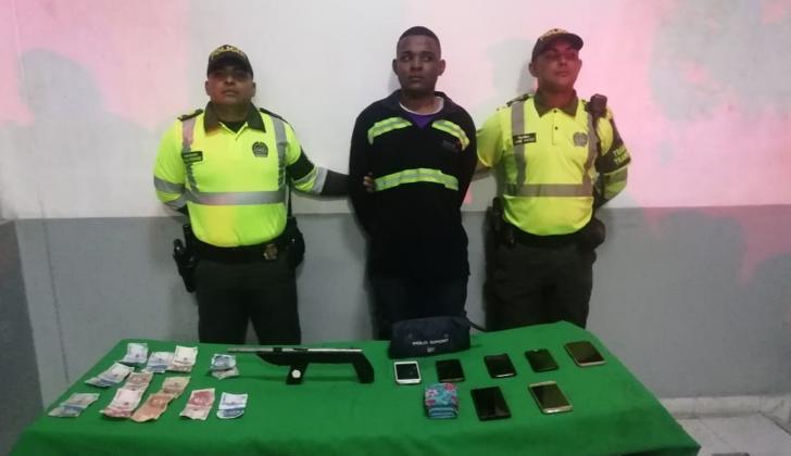 José Gregorio Lara Chirino, capturado.