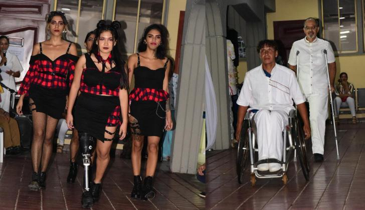 La pasarela tuvo presencia de personas con diversas discapacidades físicas y cognitivas.