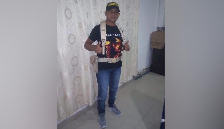 Yondairo Torres Parra, capturado por extorsión.