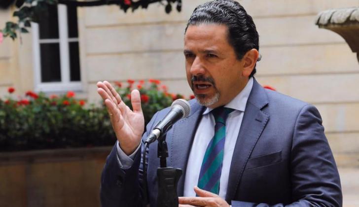 Miguel Antonio Ceballos Arévalo, comisionado para la Paz.