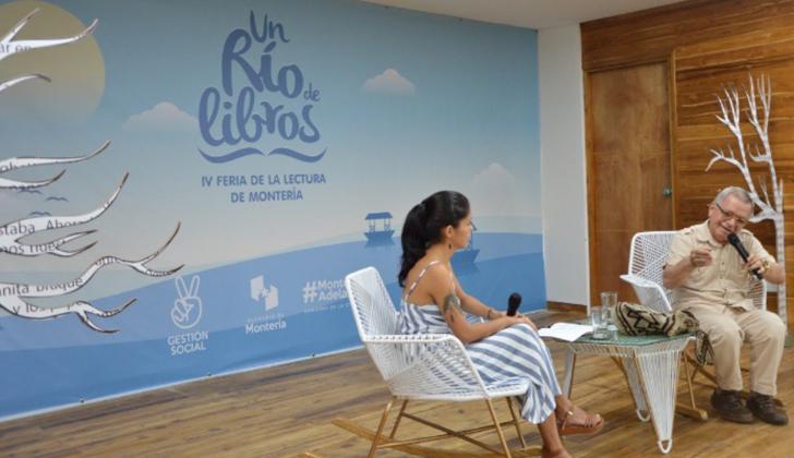 Feria de lectura 'Un Río de Libros'.