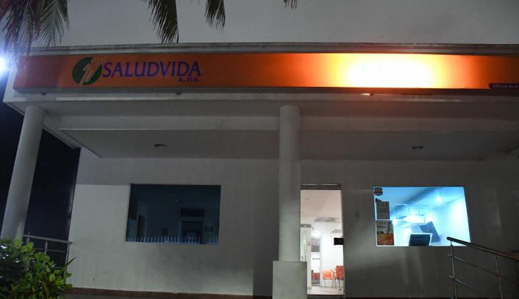 Una de las sedes de Saludvida, ubicada en la carrera 52 número 61-162 en Barranquilla.