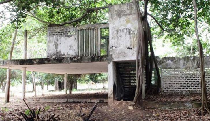 Esta es la finca El Palmar, otrora centro de operaciones del bloque Héroes de los Montes de María de las Auc.