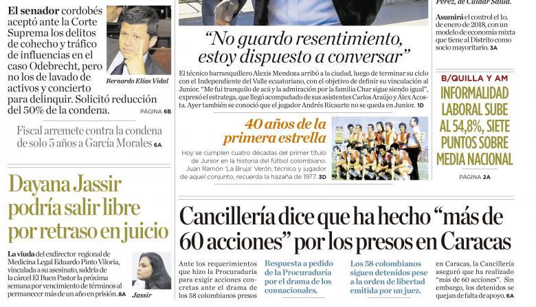 """'Ñoño' Elías admite dos delitos y pide """"perdón """""""
