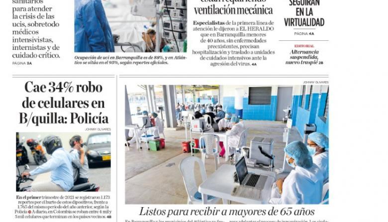 Saturación de ucis demanda más personal médico en el Atlántico