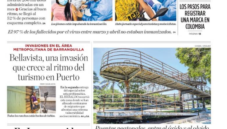 Barranquilla rompe récords de vacunación contra la covid-19
