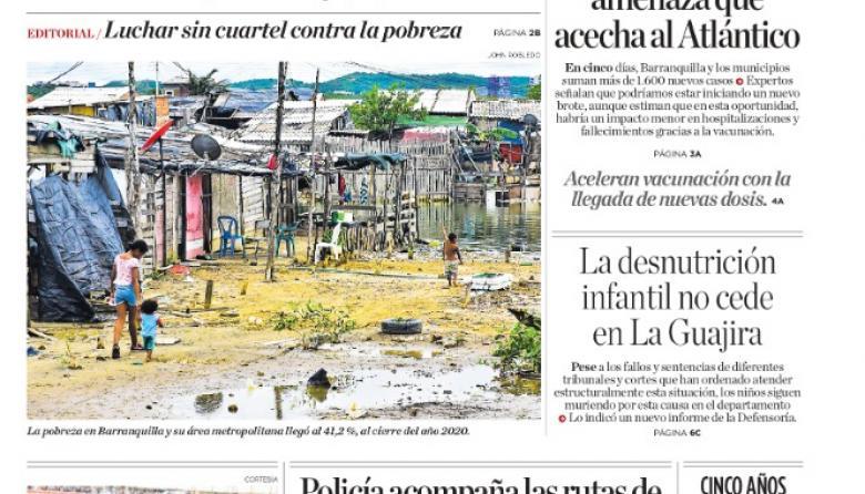 El pacto que busca reducir la pobreza en Barranquilla