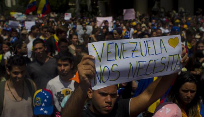 Alianza opositora venezolana pide liberar detenidos y desarmar a colectivos