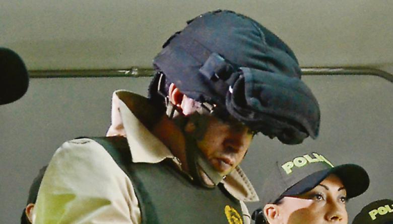 Las autoridades le hallaron a Vega la factura de la compra del ácido sulfúrico, con fecha de diciembre pasado.