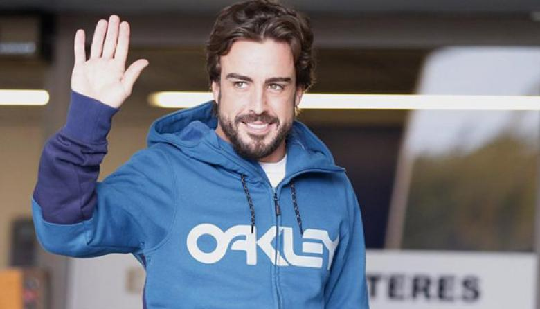 Fernando Alonso fue dado de alta tras accidente durante una prueba
