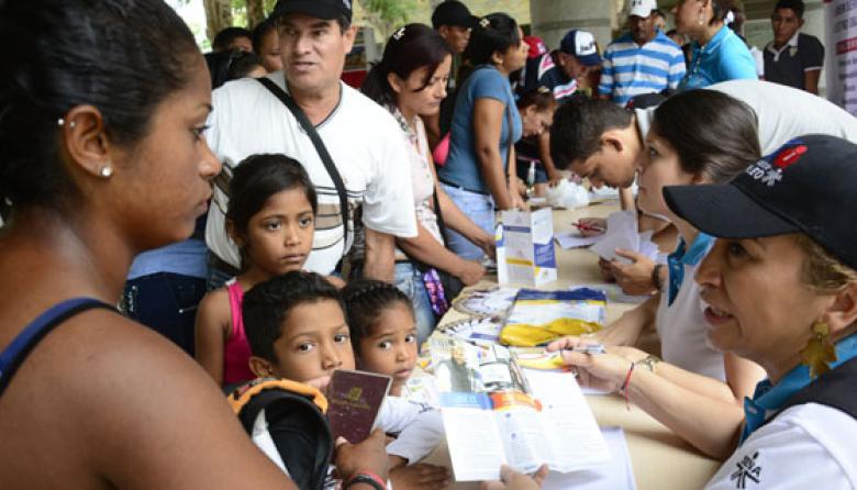 530 retornados de Venezuela esperan empleos con el Sena