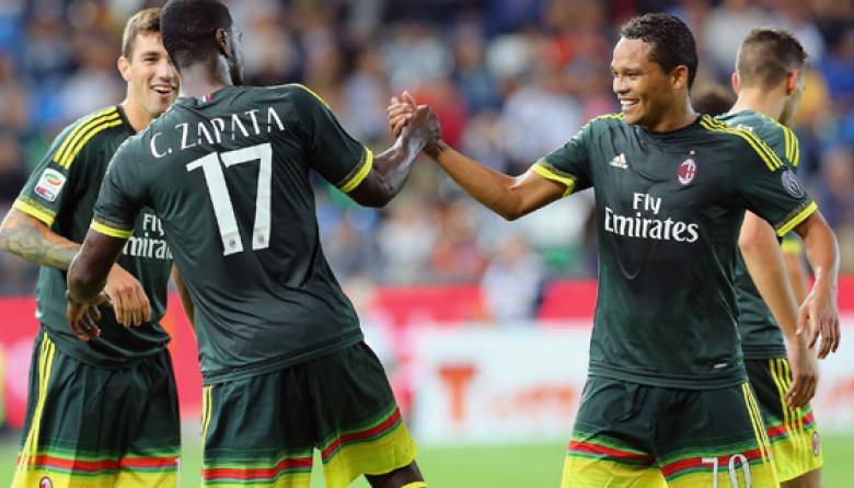 Cristian Zapata marca en sufrido triunfo del AC Milan