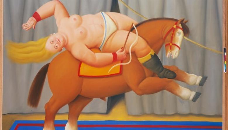 Con dos muestras, la obra de Fernando Botero se exhibe en China