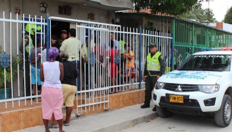 Niño fue quemado con ácido en barrio de Cartagena