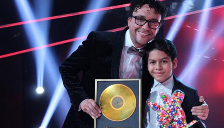 Luis Mario hace triunfador al Caribe en 'La Voz Kids'