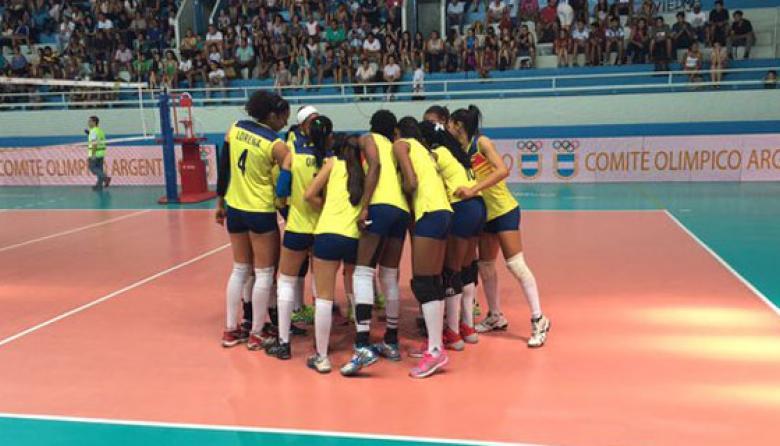 Colombia debuta con victoria en el Preolímpico sudamericano de voleibol