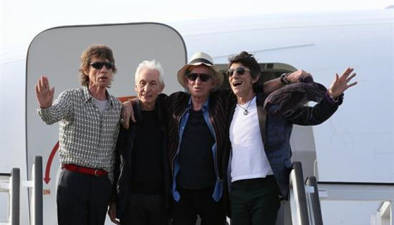 The Rolling Stones ya están en La Habana