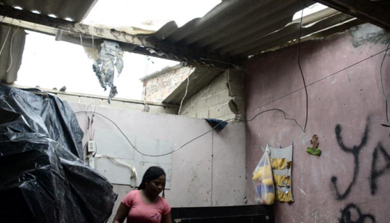 Vendaval destecha 36 casas en el suroccidente de Barranquilla