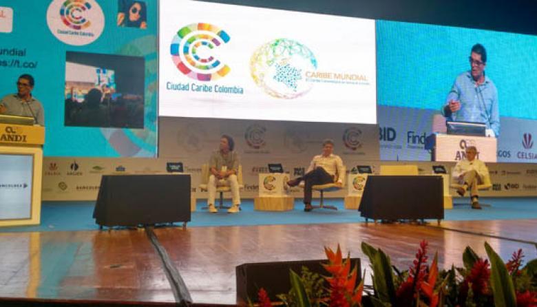 Antonio Celia, interviene en la instalación de Ciudad Caribe Colombia