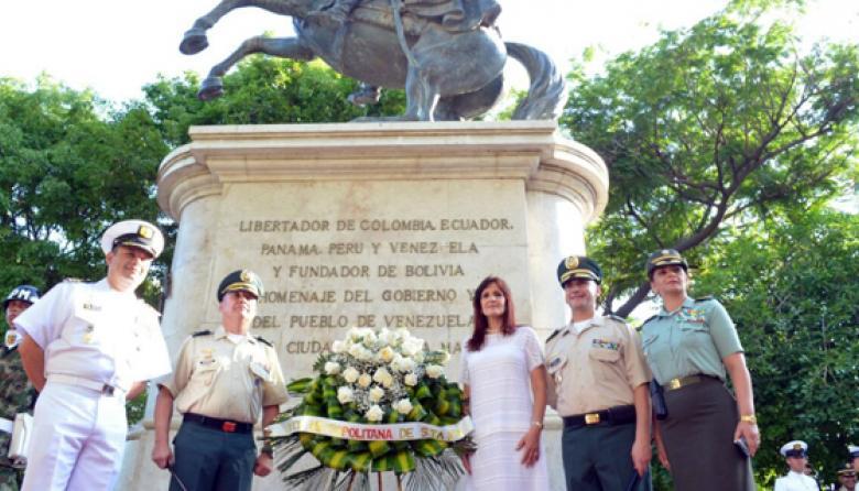 Alcalde de Santa Marta, ausente en homenaje al Día de la Independencia