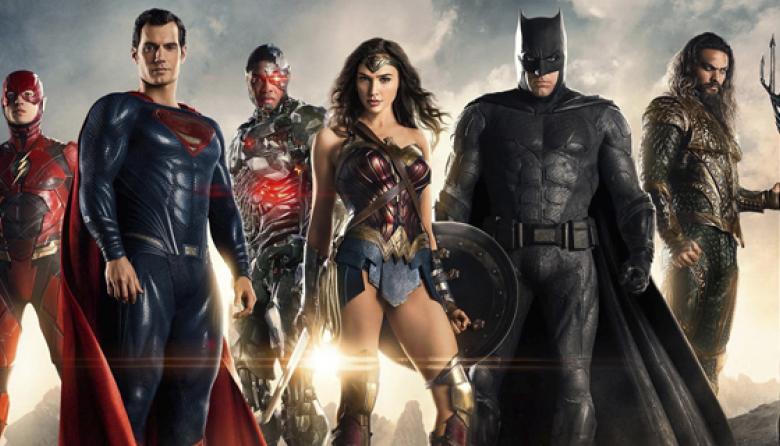 Imagen de 'La Liga de la Justicia' difundida ayer.