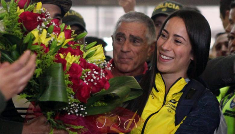 """""""Estoy feliz de volver a la tierra que me vio nacer"""": Mariana Pajón"""