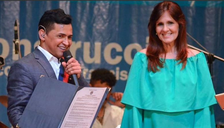Jorge Celedón recibe reconocimiento de la Gobernación del Magdalena