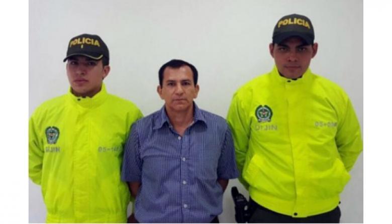 Capturan en Medellín a 'David León', máximo jefe de Los Pelusos