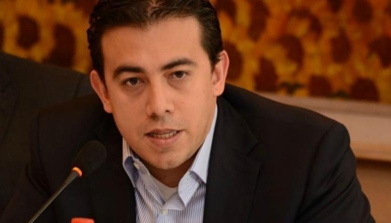 El presidente del Consejo Nacional Electoral (CNE), Alexander Vega.