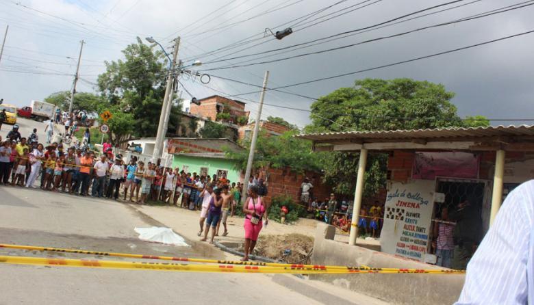 Matan a dos presuntos delincuentes en Nueva Colombia