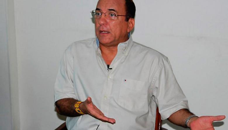 El exgobernador de La Guajira, Jorge Pérez.