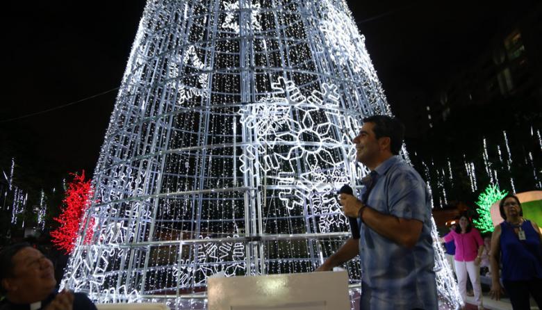Distrito prende hoy el alumbrado de Navidad