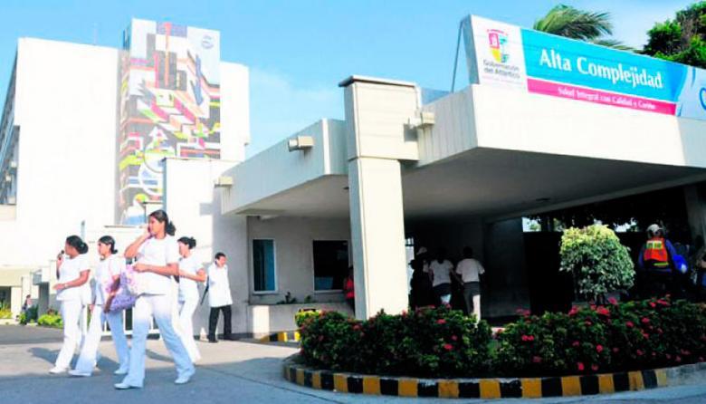 Hospital Universitario ESE Cari, en Barranquilla.