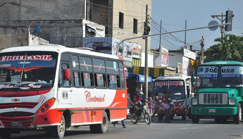 En Barranquilla: 201 millones de viajes en transporte público y masivo, en 2016