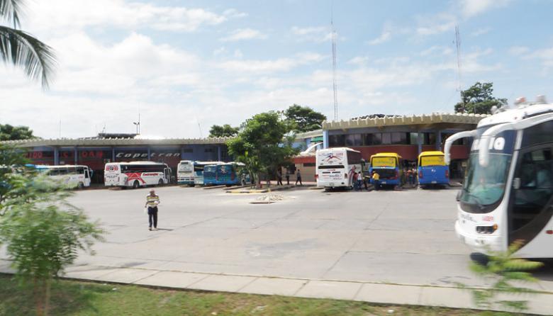 Terminal de Transporte de Soledad en cercanías donde ocurrieron los hechos.