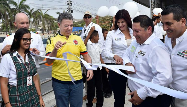 En Cartagena, Transcaribe arrancó tras diez años de espera