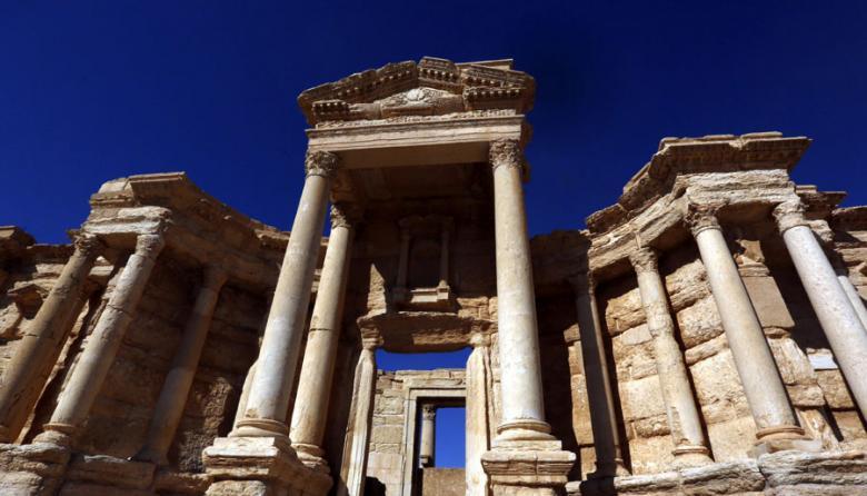 Teatro romano de Palmira (Siria).