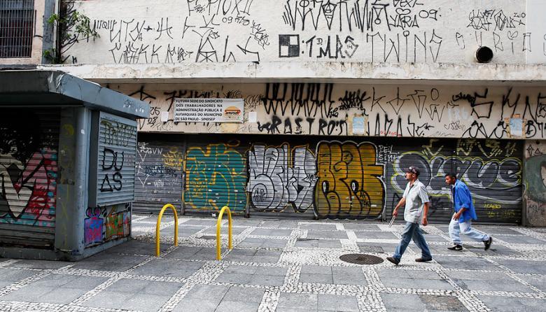 """Sao Paulo emprende """"cruzada"""" contra el grafiti"""