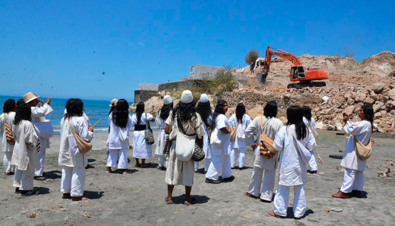 Indígenas piden intervención del Gobierno Nacional ante destrucción de sitio sagrado