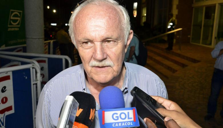 Marco Antonio Peredo, presidente de la Federación Boliviana de Fútbol.