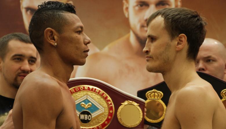 Un plateño pelea por dos títulos en Rusia