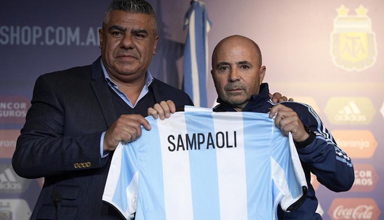 Jorge Sampaoli, nuevo entrenador de la Selección Argentina