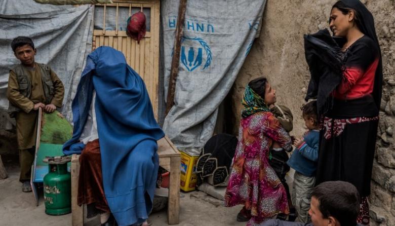 El pueblo de las viudas de Kabul, un mundo aparte