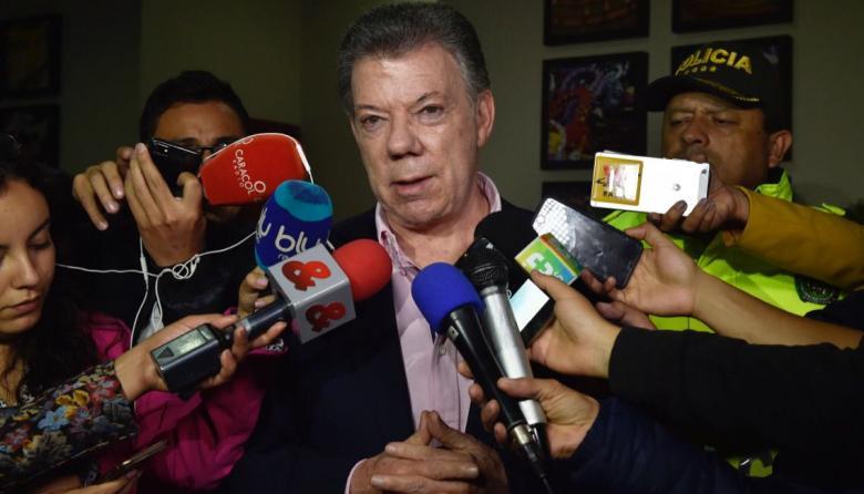 """""""El terrorismo será castigado por la justicia"""": Santos"""